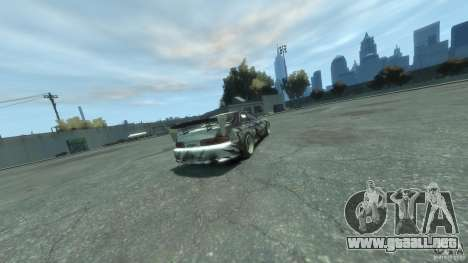 Toyota Soarer Tokage Crew para GTA 4 Vista posterior izquierda