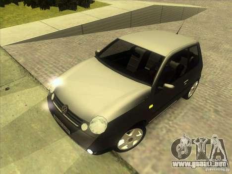 Volkswagen Lupo para la vista superior GTA San Andreas