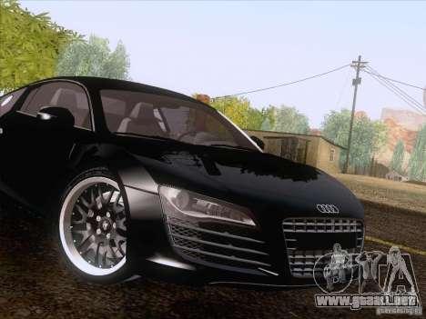 Audi R8 Hamann para la vista superior GTA San Andreas