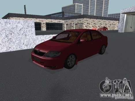 Toyota Corolla Sedan para GTA San Andreas