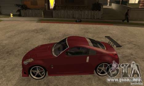 Nissan 350Z JC2 para GTA San Andreas left