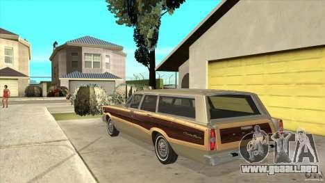 Ford Country Squire 1966 para GTA San Andreas vista posterior izquierda
