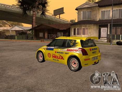 Suzuki Swift Rally para la visión correcta GTA San Andreas
