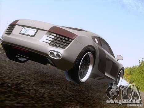 Audi R8 Hamann para GTA San Andreas left