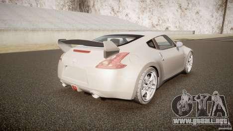 Nissan 370Z para GTA 4 vista lateral