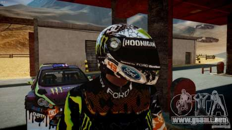 Ken Block Gymkhana 5 Clothes (Unofficial DC) para GTA 4 sexto de pantalla