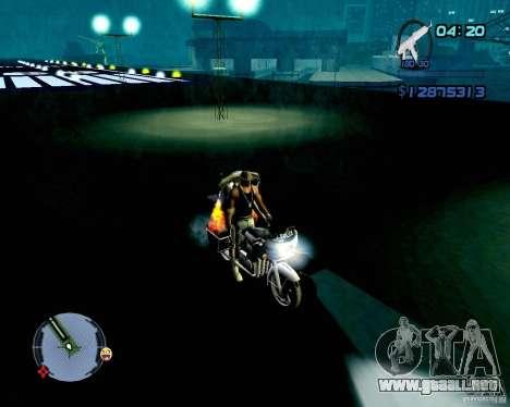 Not ENB para GTA San Andreas séptima pantalla