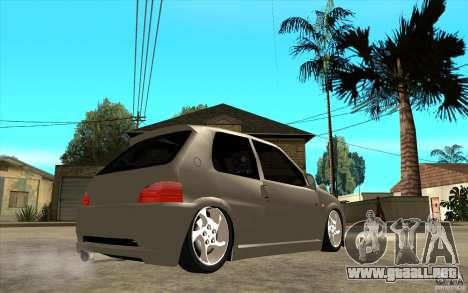 Peugeot 106 Reptile para la visión correcta GTA San Andreas