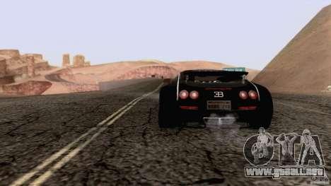 Bugatti ExtremeVeyron para GTA San Andreas left