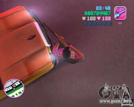 Vaqueros y camisa a cuadros para GTA Vice City segunda pantalla