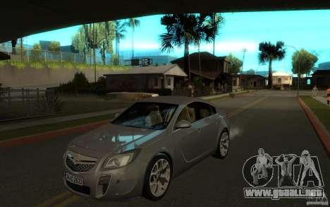 Opel Insignia 2011 para GTA San Andreas