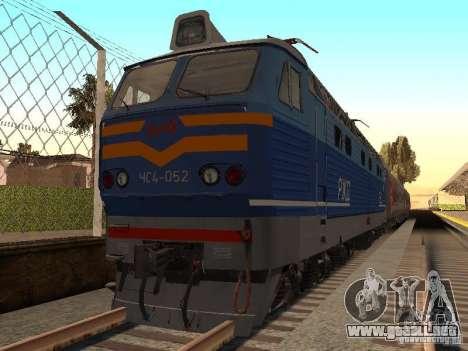 ЧС4-052 para la visión correcta GTA San Andreas