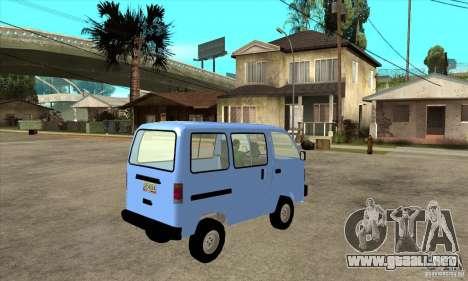 Suzuki Carry 1993 para la visión correcta GTA San Andreas