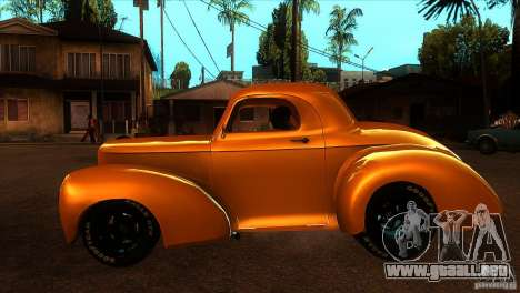 Americar Willys 1941 para GTA San Andreas left