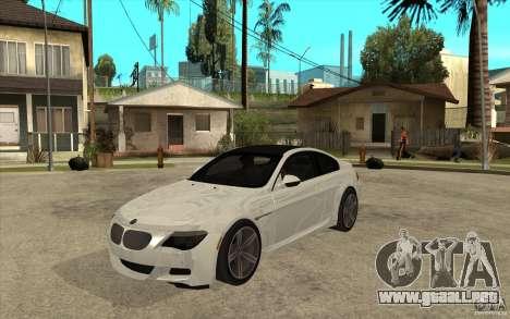 BMW M6 Coupe V 2010 para GTA San Andreas