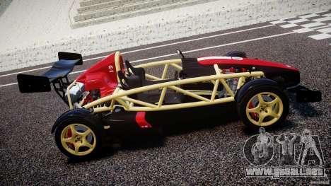Ariel Atom 3 V8 2012 Custom Mugen para GTA 4 left