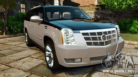 Cadillac Escalade ESV 2012 para GTA 4
