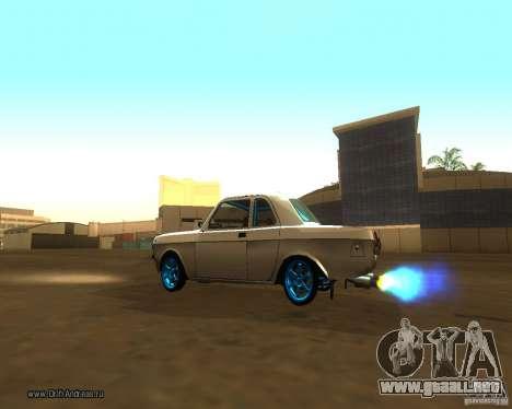 GAZ Volga 2410 Drift edición para vista lateral GTA San Andreas