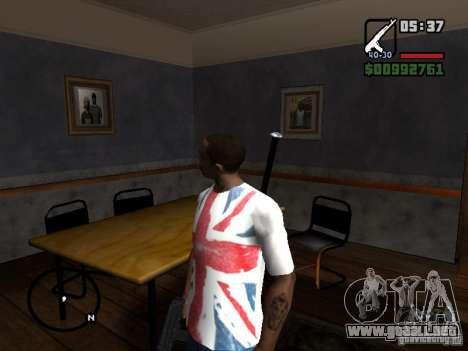 El jugador se ve donde ves para GTA San Andreas segunda pantalla