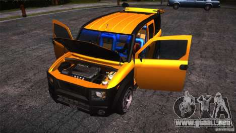 Honda Element LX para la vista superior GTA San Andreas