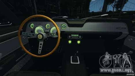 Shelby Mustang GT500 Eleanor 1967 v1.0 [EPM] para GTA 4 vista lateral