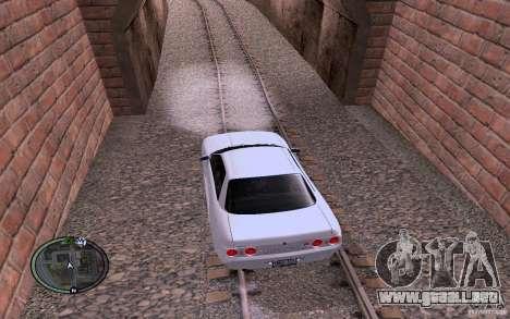 Rieles rusos para GTA San Andreas sucesivamente de pantalla
