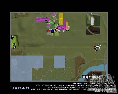 Base Gareli para GTA San Andreas séptima pantalla