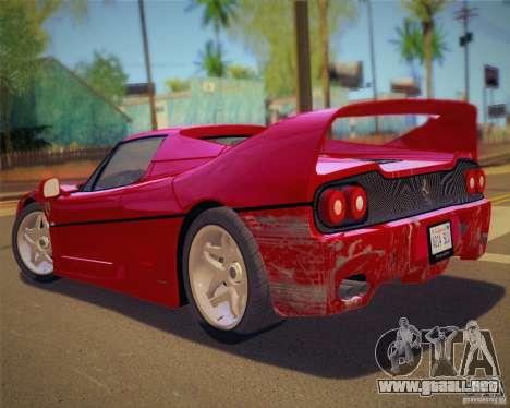 GTA IV Scratches Style para GTA San Andreas quinta pantalla