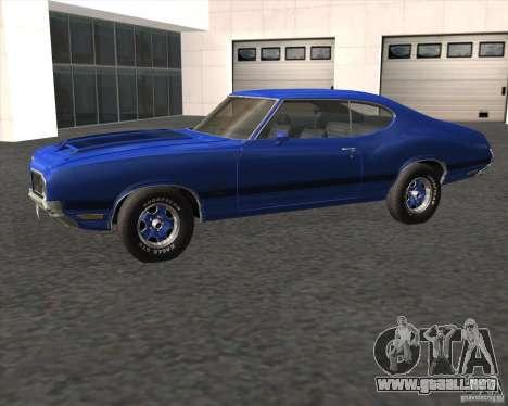 Oldsmobile 442 (fixed version) para GTA San Andreas left