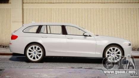 BMW M5 F11 Touring para GTA 4 vista interior