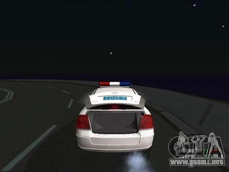 Toyota Avensis DPS para la visión correcta GTA San Andreas