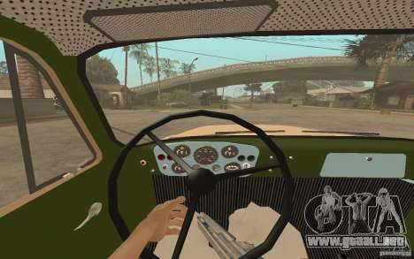 Gaz-52 para GTA San Andreas interior