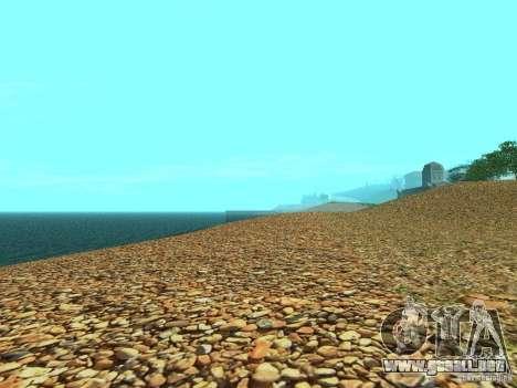 HQ playas v2.0 para GTA San Andreas quinta pantalla