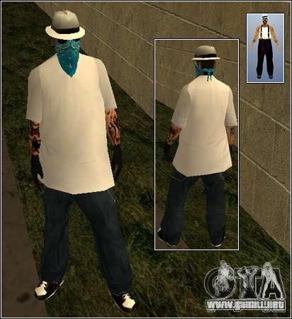 Piel Pack Getto para GTA San Andreas octavo de pantalla