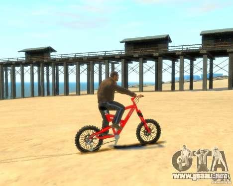 Mountain bike para GTA 4 left