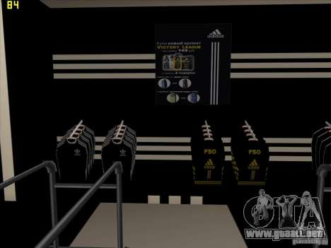 Reemplazo total de la tienda Binco Adidas para GTA San Andreas séptima pantalla