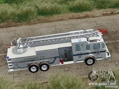 Pierce Puc Aerials. Bone County Fire & Ladder 79 para el motor de GTA San Andreas