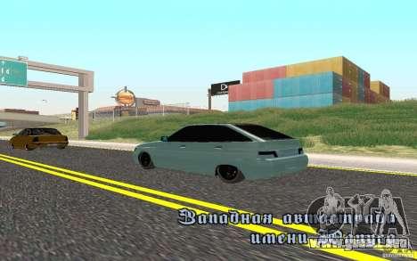 Ajuste ligero VAZ-2112 para GTA San Andreas left