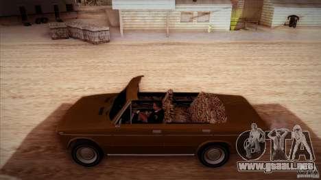 VAZ 2103 Convertible para la vista superior GTA San Andreas