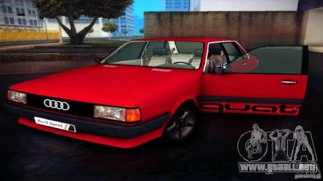 Audi 80 B2 para la visión correcta GTA San Andreas