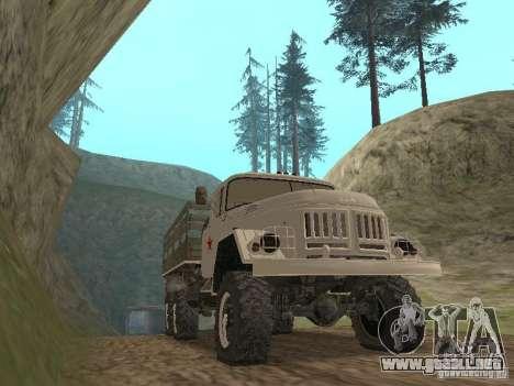 ZIL 131 Main para GTA San Andreas left