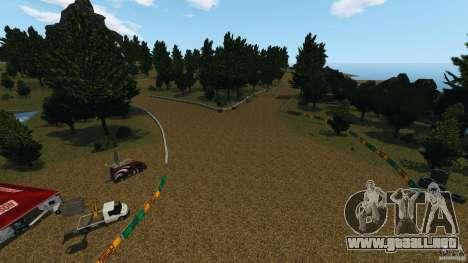 DiRTY - LandRush para GTA 4 adelante de pantalla