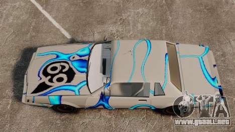 Rusty Sabre en librea, 69 para GTA 4 vista hacia atrás