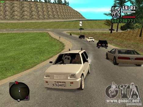 OKA VAZ 11113 para GTA San Andreas vista posterior izquierda