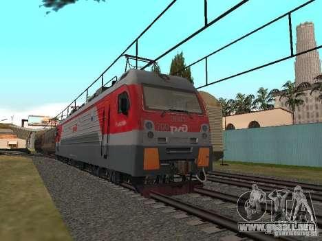 Final de ferrocarril mod IV para GTA San Andreas quinta pantalla