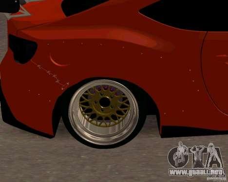 Scion FR13 para la visión correcta GTA San Andreas