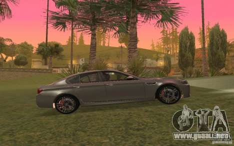 BMW M5 para vista lateral GTA San Andreas