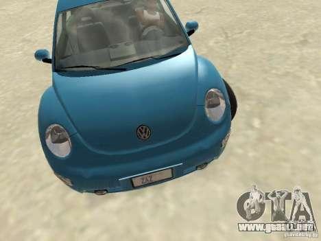 VW Beetle 2004 para GTA San Andreas left