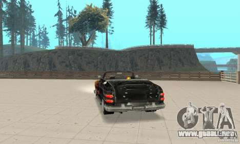 Flat Out Style para GTA San Andreas left