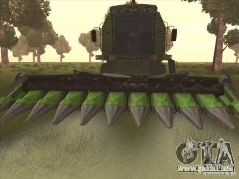 Deutz Harvester para GTA San Andreas left